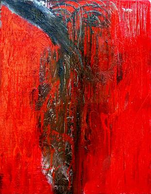 arte posizione rossa