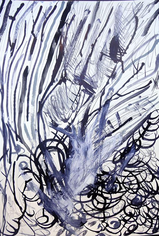 libereastrazioni composizioni-bianco-e-nero-acqurello-su-carta-tm-2014-37x54