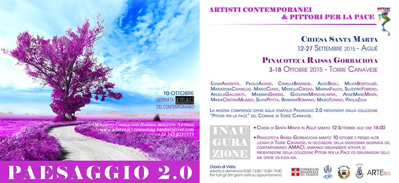 paesaggio 2.0 invito