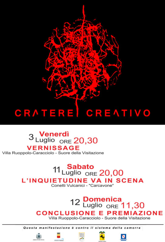 vesevo CRATERE CREATIVO manifesto